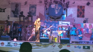 Femi Kuti Performing At African Shrine